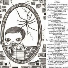 'Mars' illustration and poem by Everly Dark