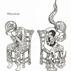 'Quiet fire' illustration by Everly Dark