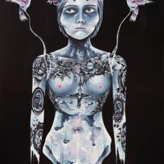 'Oblivion' painting by Everly Dark