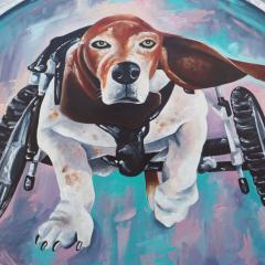 'Rocket' a painting by Everly Dark