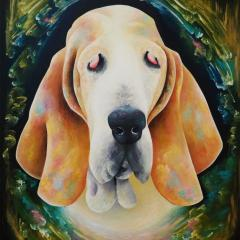 'Wilbur' a painting by Everly Dark